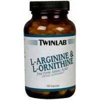 L-Arginine & L-Ornithine (100капс)